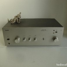 Radio antiche: AMPLIFICADOR PHILIPS 22AH590 INTEGRATED STEREO AMPLIFIER NO COMPROBADO PERO SE ENCIENDE. Lote 267285224