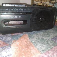 Radios antiguas: RADIO CASSETTE CORDER SONY CFM-155, EN PERFECTO ESTADO. TODO FUNCIONA. Lote 267467094