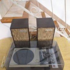 Radios antiguas: STIBERT TOCADISCOS MODELO 710 AÑOS 60/70 FUNCIONANDO, VINTAGE. Lote 267596399