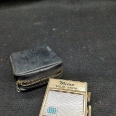 Rádios antigos: VIEJO RADIO TRANSISTOR ROSS MINIATURA. Lote 267681974