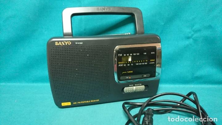 RADIO TRANSISTOR SANYO RP 6165F (Radios, Gramófonos, Grabadoras y Otros - Transistores, Pick-ups y Otros)