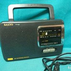 Rádios antigos: RADIO TRANSISTOR SANYO RP 6165F. Lote 268614529