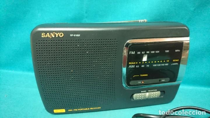 Radios antiguas: RADIO TRANSISTOR SANYO RP 6165F - Foto 2 - 268614529