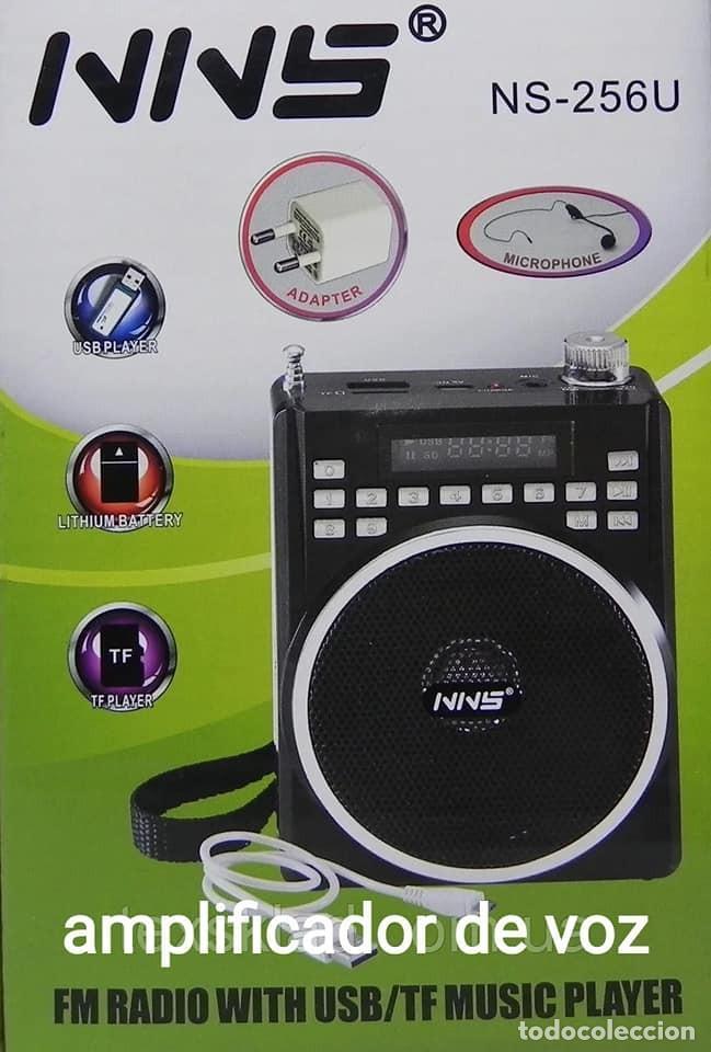 AMPLIFICADOR DE VOZ RADIO ALTAVOZ - NUEVO (Radios, Gramófonos, Grabadoras y Otros - Transistores, Pick-ups y Otros)