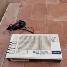 Radios antiguas: RADIO RELOJ DESPERTADOR MARCA INTERNATIONAL. MODELO 7700. FUNCIONA.. Lote 268879384