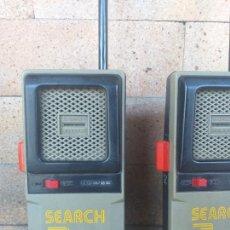 Radios antiguas: VINTAGE WALKIE TALKIES: SEARCH 3, MODELO 3-5943 GENERAL ELECTRIC, AÑO 1972. Lote 268899224
