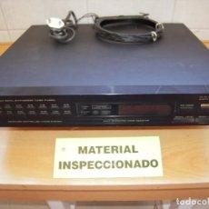Radios antiguas: MAGNIFICO SINTONIZADOR DE RADIO FM AM DIGITAL PIONEER ESTEREO TUNER FX-420-L FUNCIONANDO!. Lote 268915859