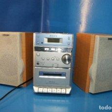 Radios antiguas: SONY HCD-EP313 MICRO HI-FI SISTEMA ESTÉREO COMPONENTE CASSETTE CD AM/FM. FUNCIONA.. Lote 268932089