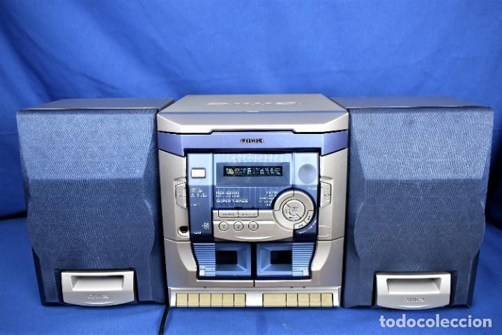 MINI CADENA AIWA NSX-SZ100 (Radios, Gramófonos, Grabadoras y Otros - Transistores, Pick-ups y Otros)