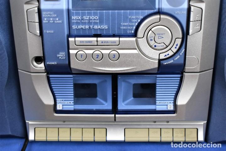 Radios antiguas: Mini cadena Aiwa NSX-SZ100 - Foto 3 - 269028834