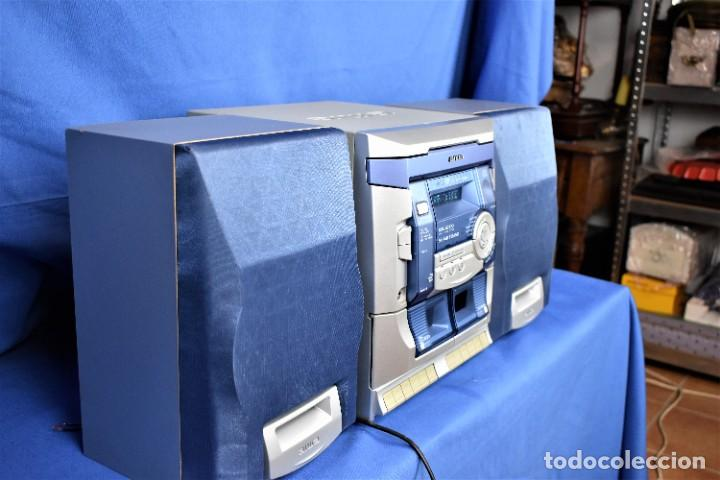 Radios antiguas: Mini cadena Aiwa NSX-SZ100 - Foto 5 - 269028834