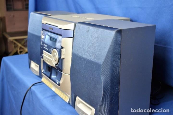 Radios antiguas: Mini cadena Aiwa NSX-SZ100 - Foto 6 - 269028834