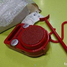 Radios antiguas: RADIO TRANSISTOR COCA-COLA, PLAYA, NUEVO. Lote 269141218