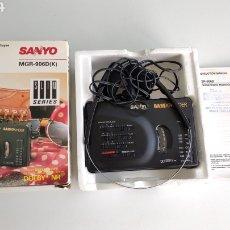 Radios antiguas: WALKMAN SANYO BASSXPANDER MGR-906D K LEER DESCRIPCION.. Lote 269234333
