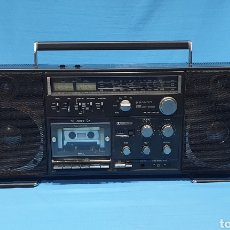 Radios antiguas: RADIO CASSETTE RECORDER - SANYO M 9998K - BOOMBOX - PARECE QUE NO FUNCIONA, NECESITA REVISION. Lote 270561693