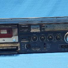 Radios antiguas: RADIO CASSETTE RECORDER - TOSHIBA DYNAMIC SOUND SYSTEM RT - 8710S - FUNCIONA CORRECTAMENTE. Lote 270564713