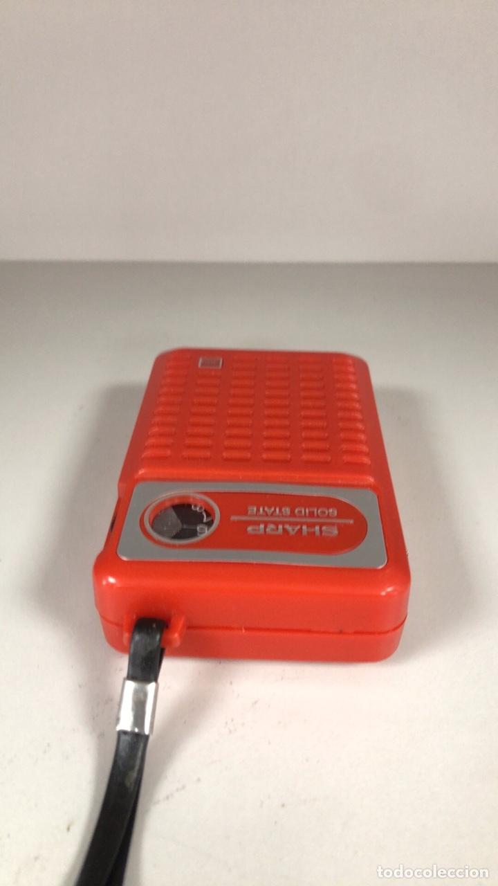 Radios antiguas: Radio Transistor Sharp BP-170, funciona, ver vídeo. - Foto 4 - 271611003