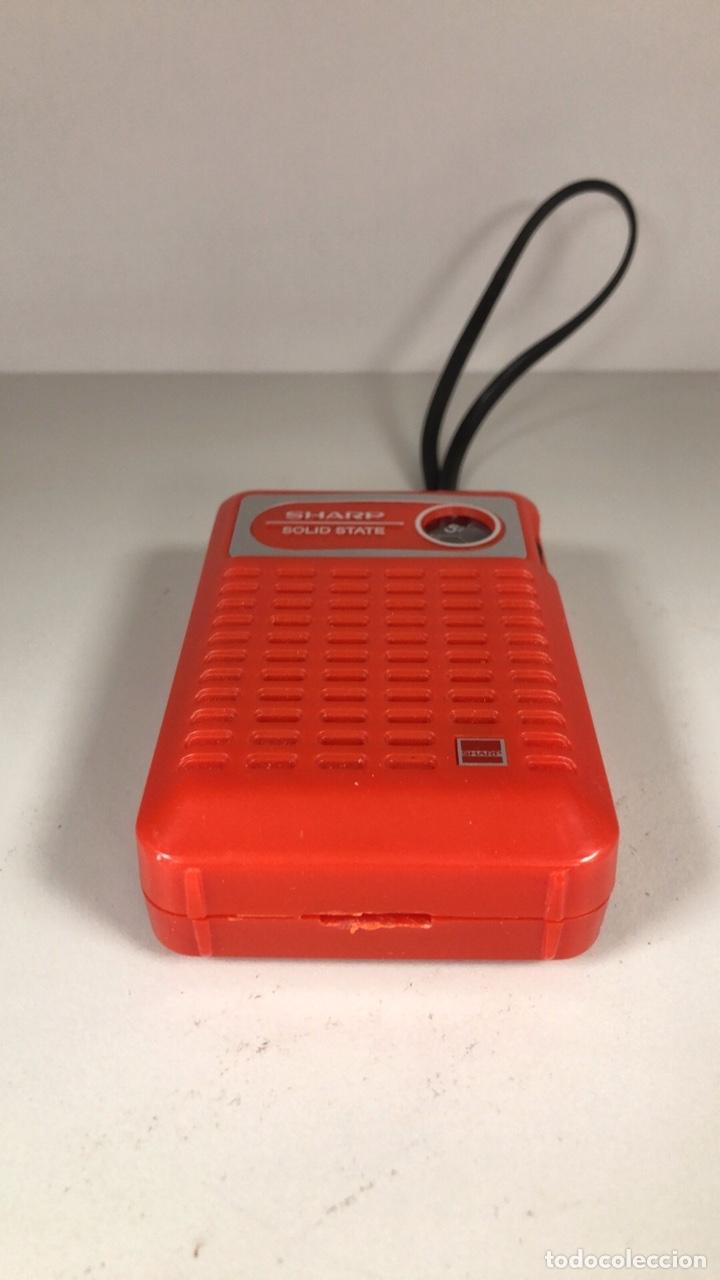Radios antiguas: Radio Transistor Sharp BP-170, funciona, ver vídeo. - Foto 5 - 271611003