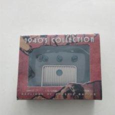 Radios antiguas: 1940'S COLLECTION ALTONA REPLICAS OF CLASSIC RADIOS. Lote 271614918
