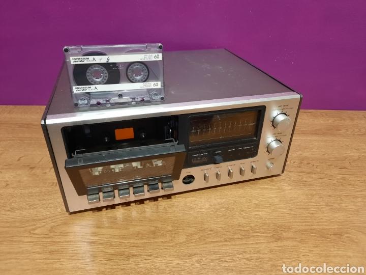 Radios antiguas: radio cassete desconosco su marca - Foto 2 - 271632478