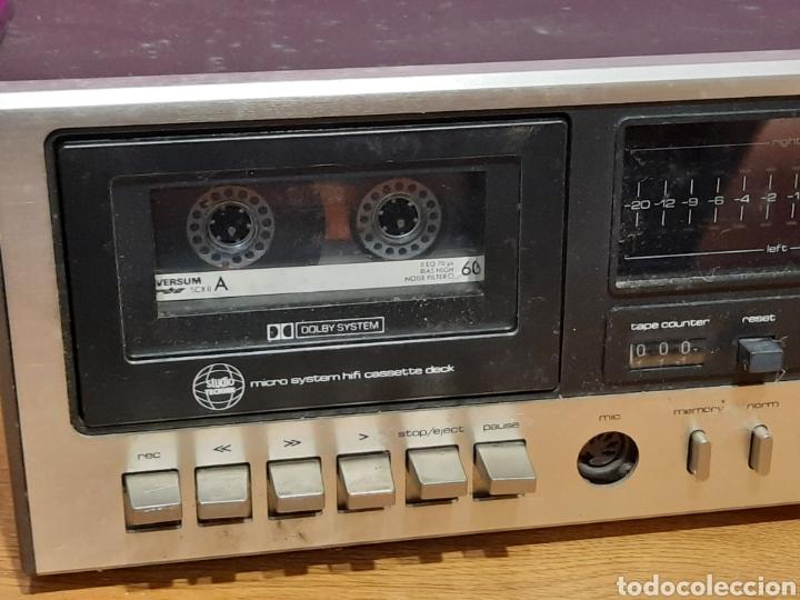 Radios antiguas: radio cassete desconosco su marca - Foto 8 - 271632478