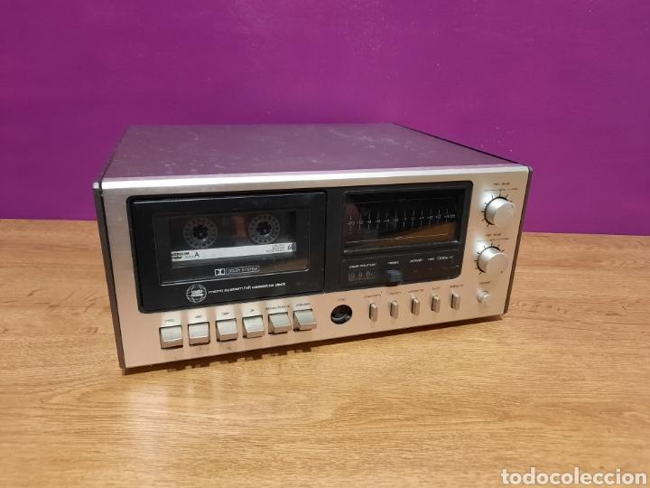 RADIO CASSETE DESCONOSCO SU MARCA (Radios, Gramófonos, Grabadoras y Otros - Transistores, Pick-ups y Otros)