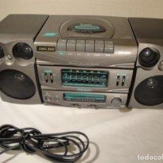 Radios antiguas: MINI CADENA MÚSICA. MARCA: XING BAO. MODELO: TD-613. FINALES DE LOS 80.. Lote 271668778