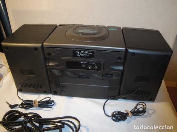 Radios antiguas: MINI CADENA MÚSICA. Marca: Xing Bao. Modelo: TD-613. Finales de los 80. - Foto 2 - 271668778