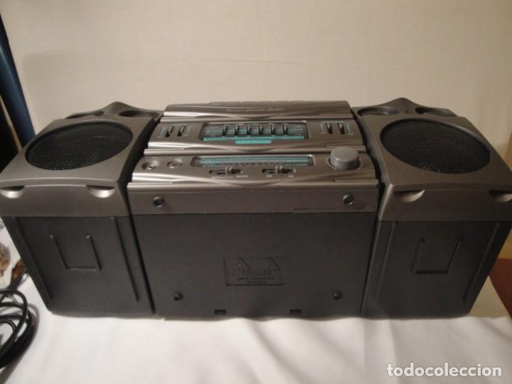 Radios antiguas: MINI CADENA MÚSICA. Marca: Xing Bao. Modelo: TD-613. Finales de los 80. - Foto 7 - 271668778