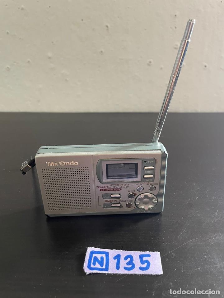 MINI RADIO ANTIGUA MX ONDA (Radios, Gramófonos, Grabadoras y Otros - Transistores, Pick-ups y Otros)