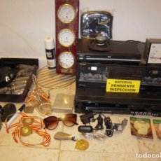 Radios antiguas: ENVIO: 12€ LOTE DE ELECTRONICA ANTIGUA :VALVULAS DE RADIO,DOBLE PLETINA,VIDEO,ETC. Lote 272124738