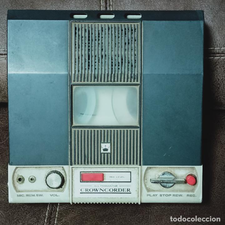 Radios antiguas: Crowncorder transistor velocidades grabadora de carrete a carrete CTR-3000 Muy rara - Foto 5 - 273963073