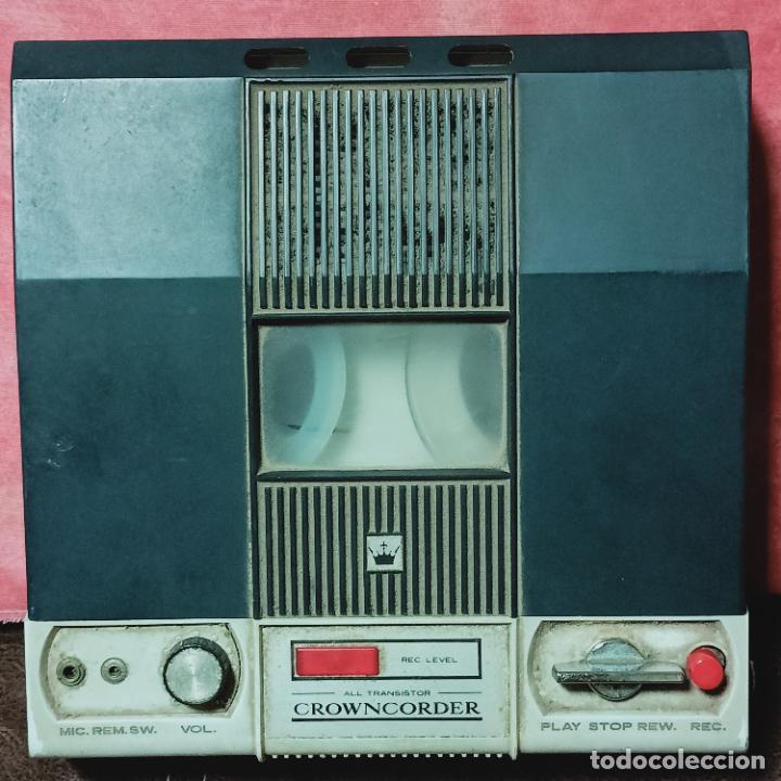 CROWNCORDER TRANSISTOR VELOCIDADES GRABADORA DE CARRETE A CARRETE CTR-3000 MUY RARA (Radios, Gramófonos, Grabadoras y Otros - Transistores, Pick-ups y Otros)
