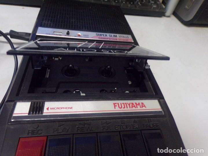 Radios antiguas: cassette recorder super slim computer fujiyama funcionando - Foto 4 - 274231473