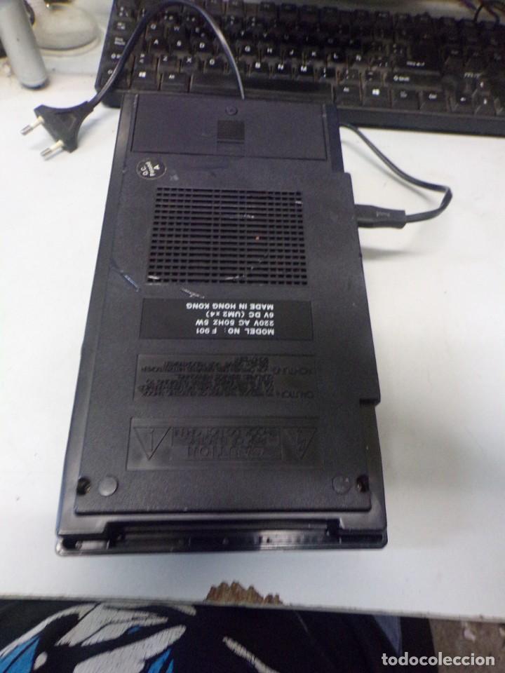 Radios antiguas: cassette recorder super slim computer fujiyama funcionando - Foto 5 - 274231473