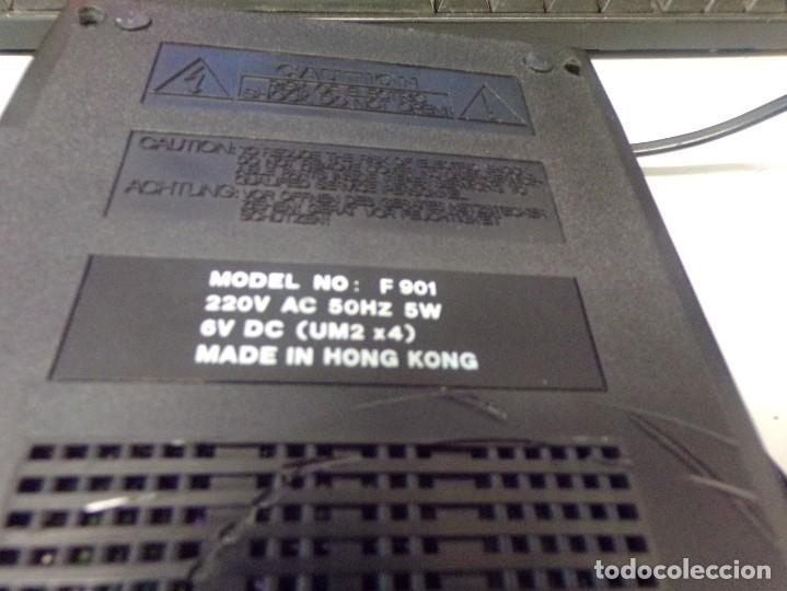 Radios antiguas: cassette recorder super slim computer fujiyama funcionando - Foto 7 - 274231473