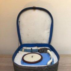 Radios antiguas: MINI TOCADISCOS DE MALETA. Lote 274363578