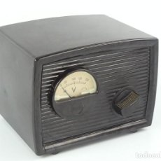 Rádios antigos: TRANSFORMADOR ANTIGUO DE BAQUELITA PARA RADIO O TELEVISOR MARCA JUCEL. Lote 275181968