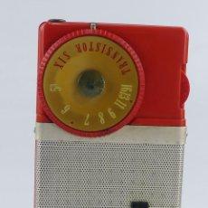 Rádios antigos: VINTAGE RADIO TRANSISTOR DE BOLSILLO MARCA SONY MODEL TR-63. Lote 275185993