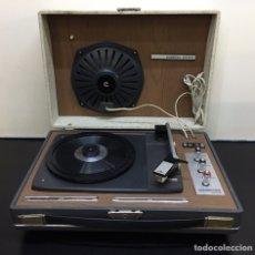 Rádios antigos: MALETA TOCA DISCOS VINTAGE CONVER 1000. Lote 275536163