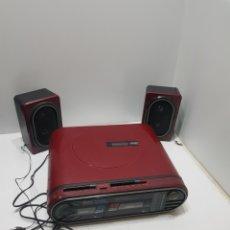 Rádios antigos: RARA RADIO+CASETTE+TOCADISCOS GPX S3500. Lote 276142473