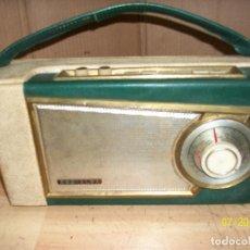 Radios antiguas: RADIO RADIALVA-FRANCIA-1960/1961-FUNCIONA. Lote 276581293