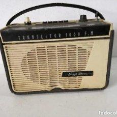 Rádios antigos: TECNOLOGÍA VINTAGE, RADIO PIZON BROS, UNOS 23 X 22 X 12 CMS. A REVISAR. Lote 276696288