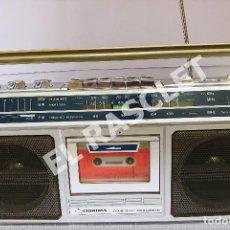 Radios antiguas: ANTIGÜO RADIO CASSETTE - MARCA OSAIMA - MODELO NO V 306 AÑOS 70 DEL SIGLO XX FUNCIONA. Lote 276952078