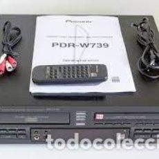 Radios antiguas: PIONEER PDR-W739 GRABADOR / CAMBIADOR DE DISCOS COMPACTOS 3 ) (1999) CON MANDO PEPETO ELECTRONICA. Lote 277090998