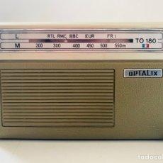 Radios antiguas: OPTALIX TO 180. Lote 277273723