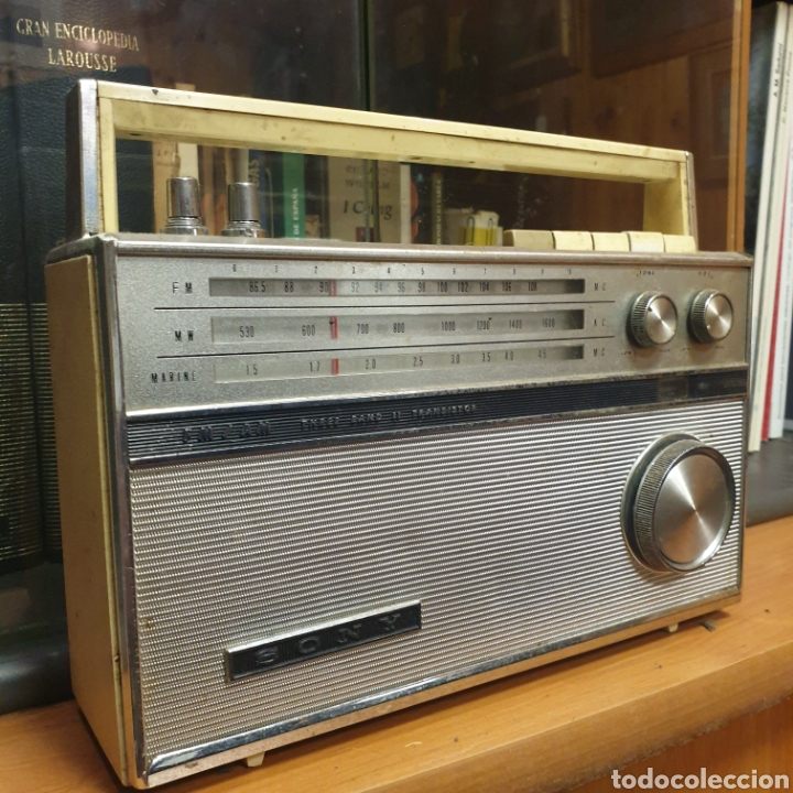 RADIO SONY TFM 116 A (Radios, Gramófonos, Grabadoras y Otros - Transistores, Pick-ups y Otros)