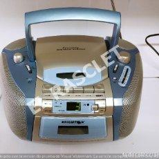Radios antiguas: CD + RADIO + CASSETTE - PORTATIL - BRIGMTON W-785- ALIMENTACION CABLE Y PILAS CON MANDO A DISTANC. Lote 277503178
