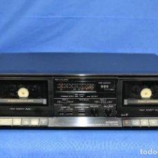 Radios antiguas: MODULO DOBLE PLETINA SONY TC-W170 AÑO 1990. Lote 277586993