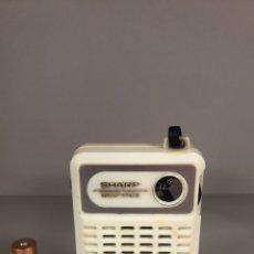 Radios antiguas: RADIO TRANSISTOR SHARP BP-170, FUNCIONA, VER VÍDEO.. Lote 277754333